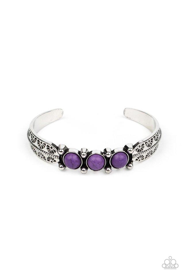 Mojave Glyphs - Purple - Paparazzi Bracelet Image