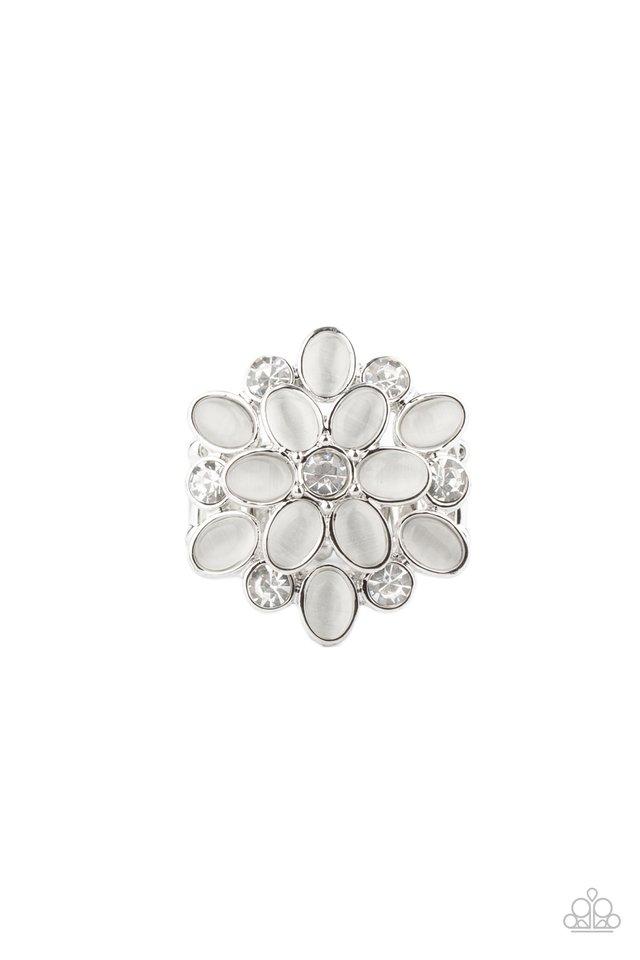 Hopes and GLEAMS - White - Paparazzi Ring Image