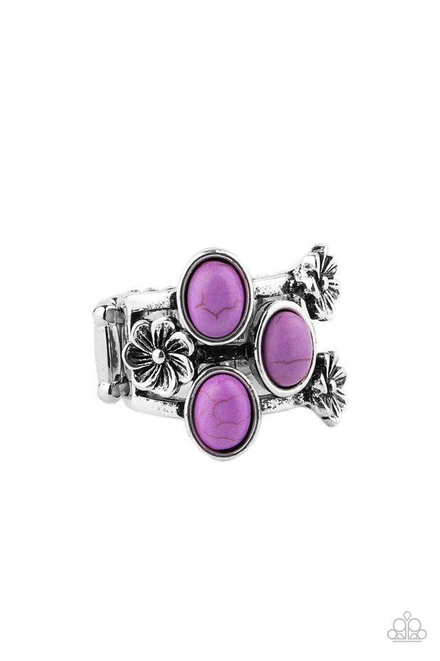 Primitive Paradise - Purple - Paparazzi Ring Image