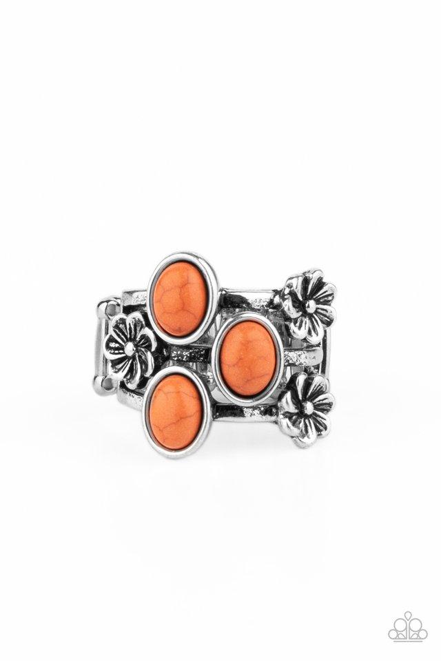 Primitive Paradise - Orange - Paparazzi Ring Image