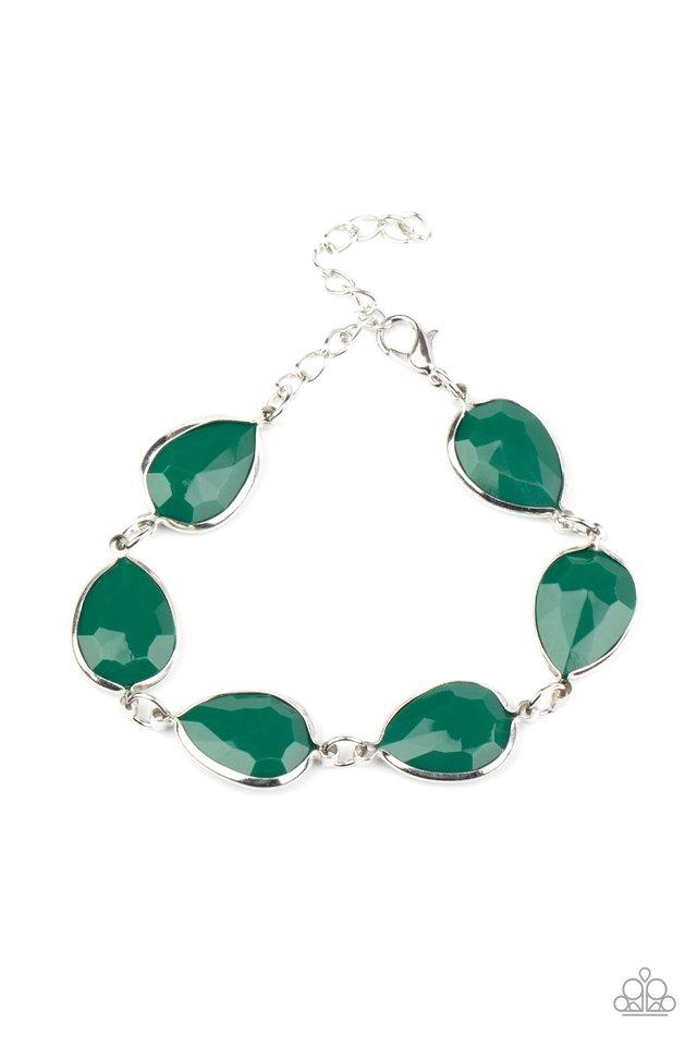 REIGNy Days - Green - Paparazzi Bracelet Image