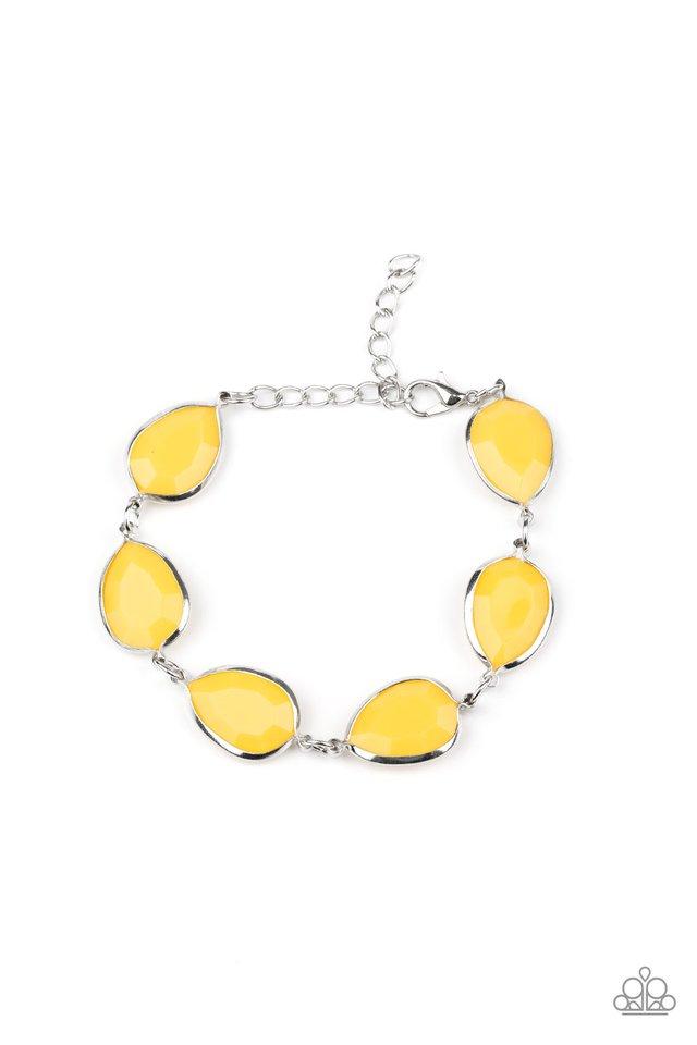 REIGNy Days - Yellow - Paparazzi Bracelet Image