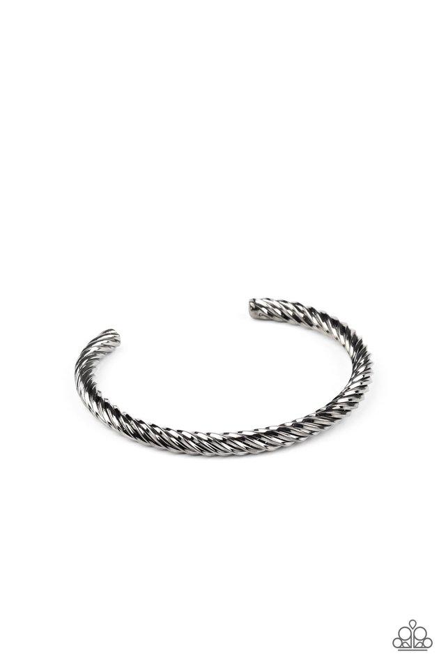 Mach Speed - Black - Paparazzi Bracelet Image