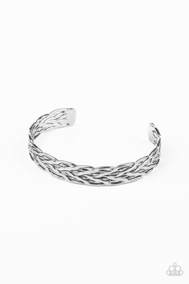 Magnetic Maven - Silver - Paparazzi Bracelet Image