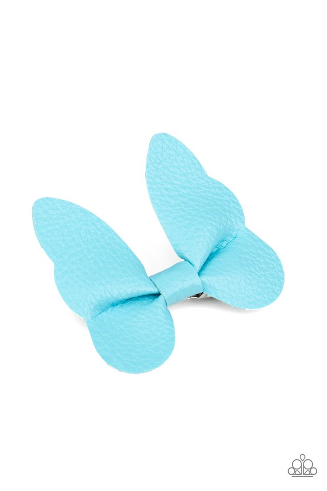 Butterfly Oasis - Blue - Paparazzi Hair Accessories Image