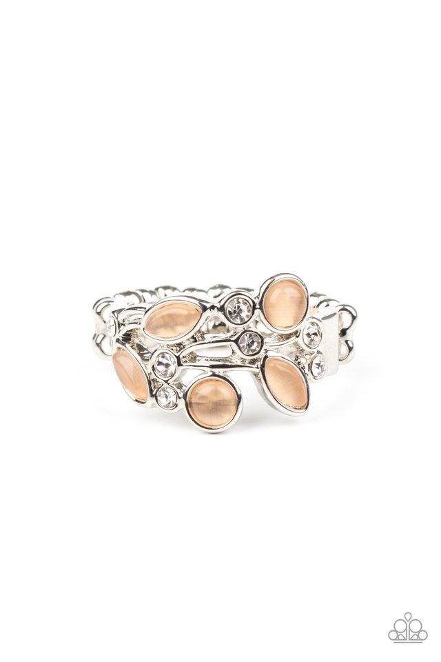 Leafy Luster - Orange - Paparazzi Ring Image
