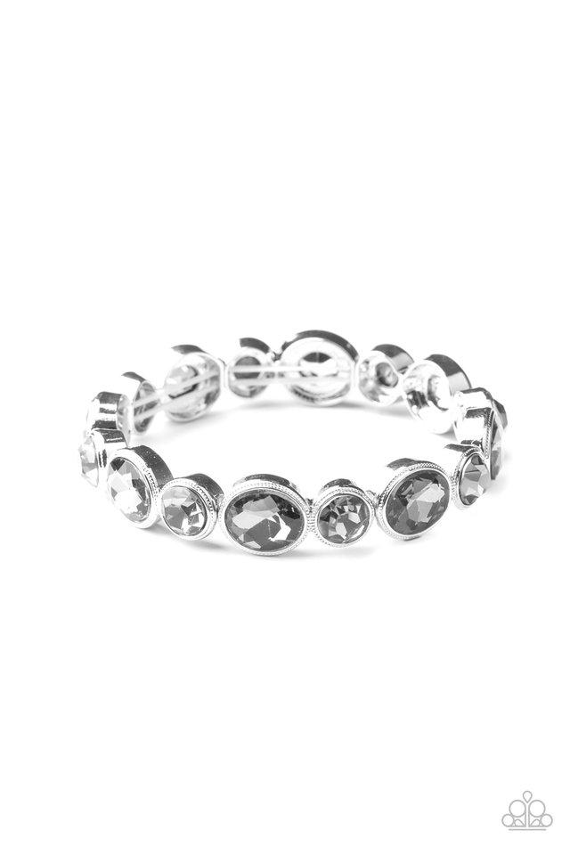 Still GLOWING Strong - Silver - Paparazzi Bracelet Image
