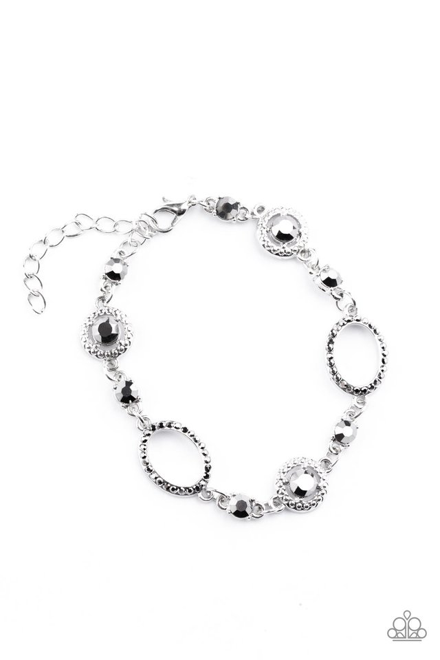 Wedding Day Demure - Silver - Paparazzi Bracelet Image