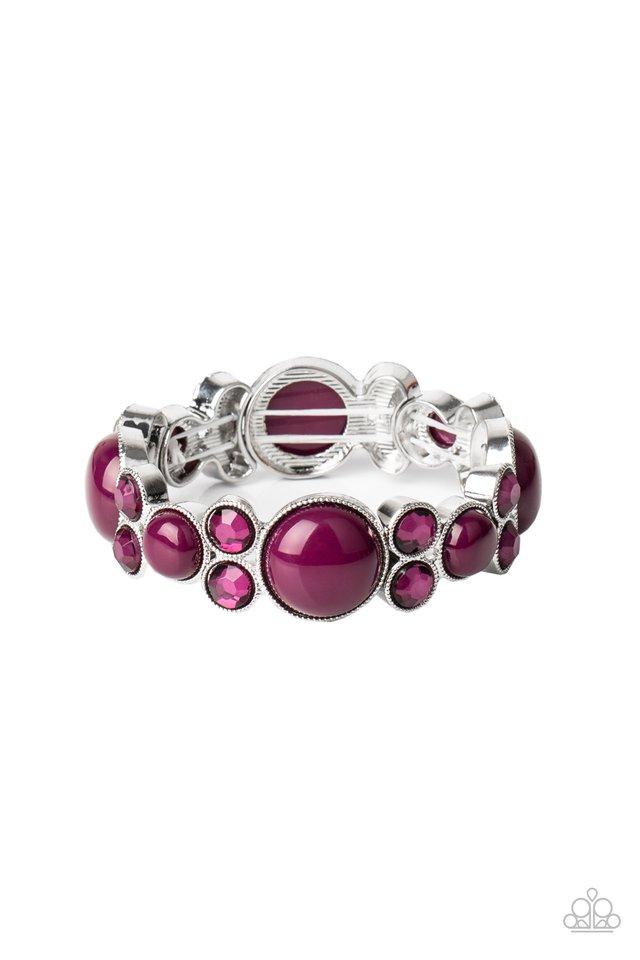 Celestial Escape - Purple - Paparazzi Bracelet Image