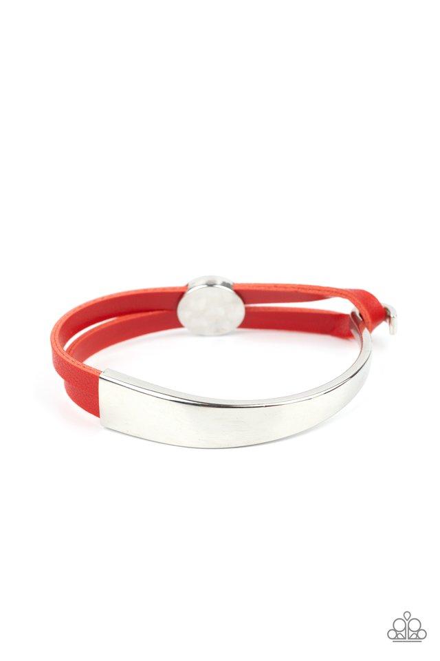 A Notch Above The Rest - Red - Paparazzi Bracelet Image