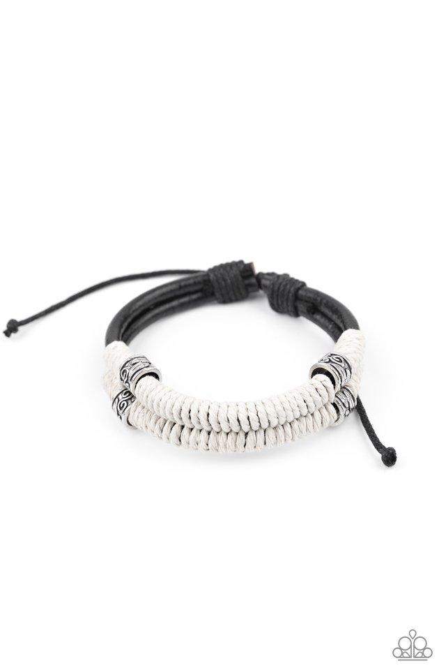 Island Renegade - Black - Paparazzi Bracelet Image