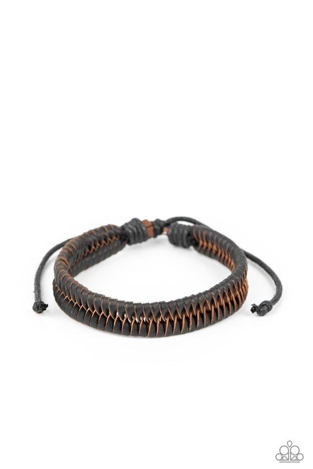 Rodeo Rally - Black - Paparazzi Bracelet Image