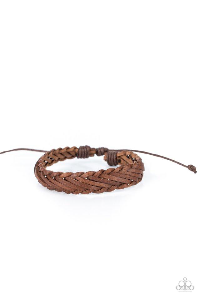 Rodeo Roundup - Brown - Paparazzi Bracelet Image