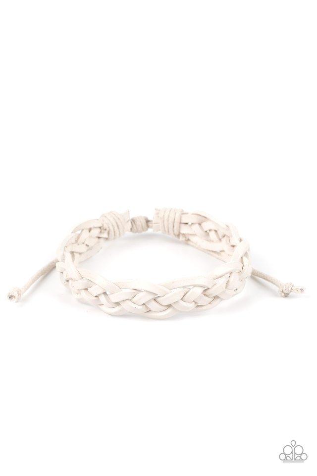 Time To Hit The RODEO - White - Paparazzi Bracelet Image