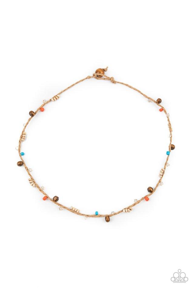 Washed Ashore - Multi - Paparazzi Necklace Image