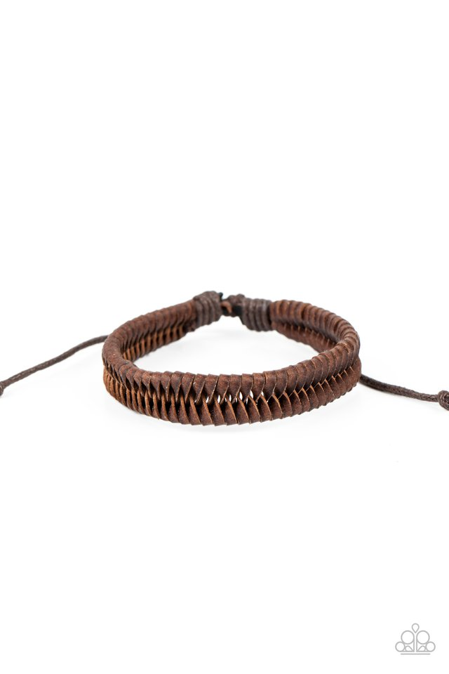 Rodeo Rally - Brown - Paparazzi Bracelet Image