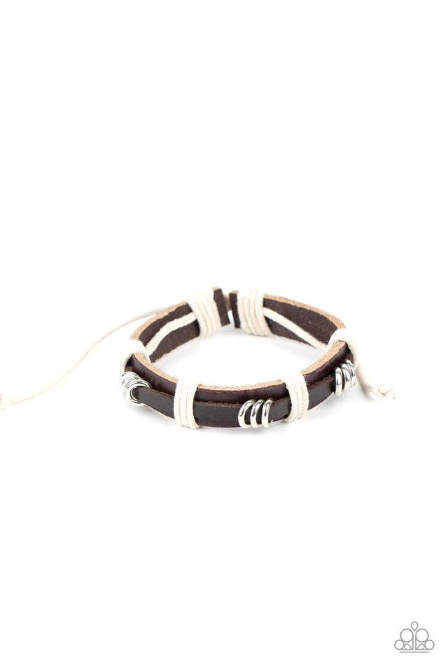 Rodeo Ringleader - Brown - Paparazzi Bracelet Image