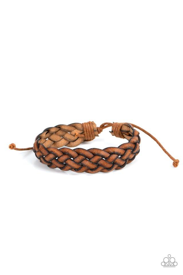Plain and Prairie - Brown - Paparazzi Bracelet Image