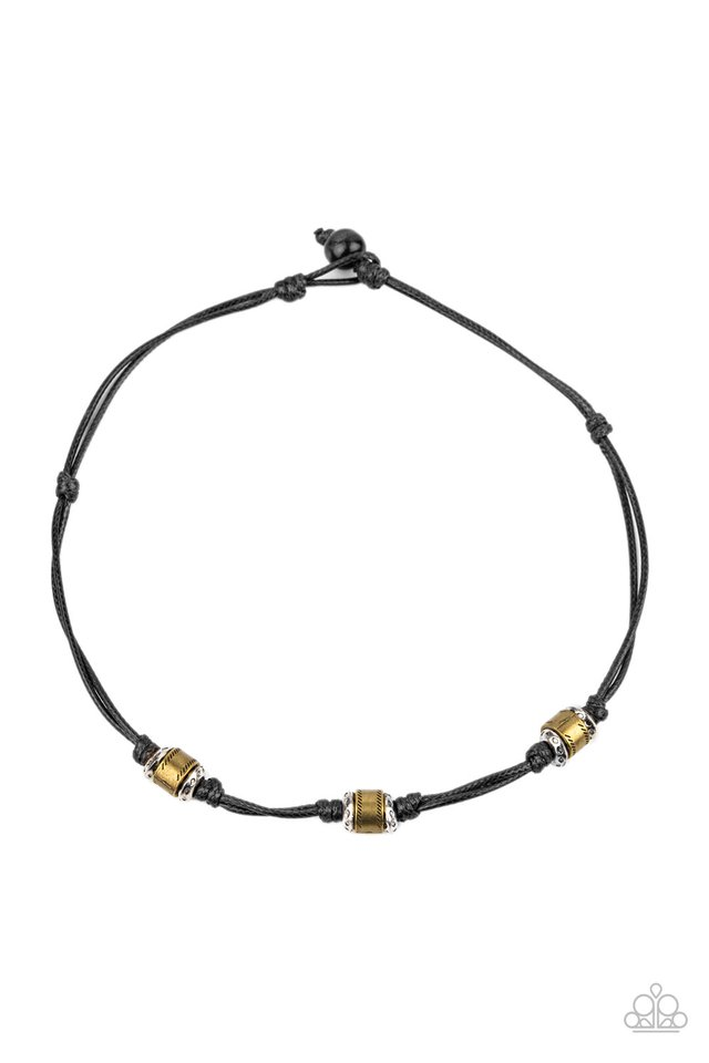 Renegade Ranger - Black - Paparazzi Necklace Image