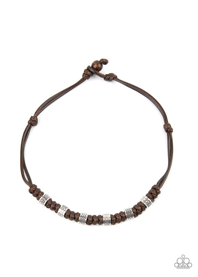 Rural Rumble - Brown - Paparazzi Necklace Image