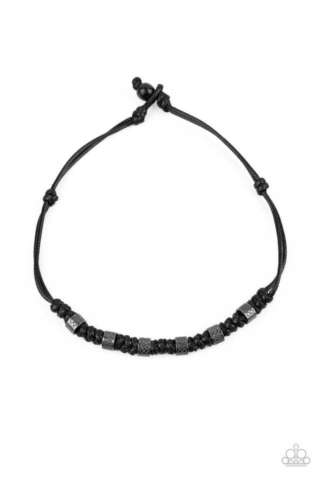 Rural Rumble - Black - Paparazzi Necklace Image