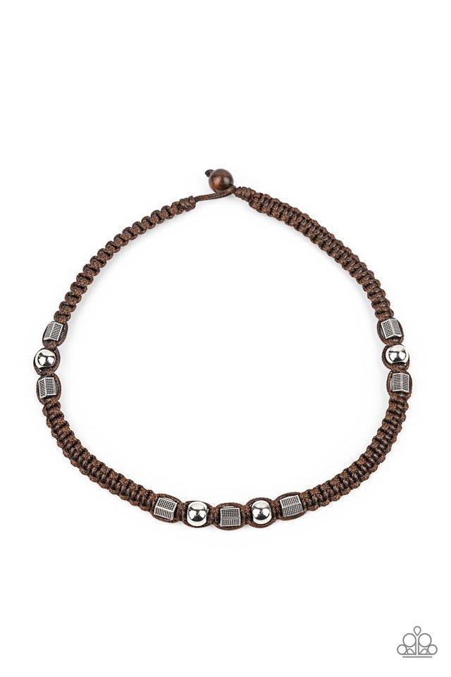 Take a Trek - Brown - Paparazzi Necklace Image