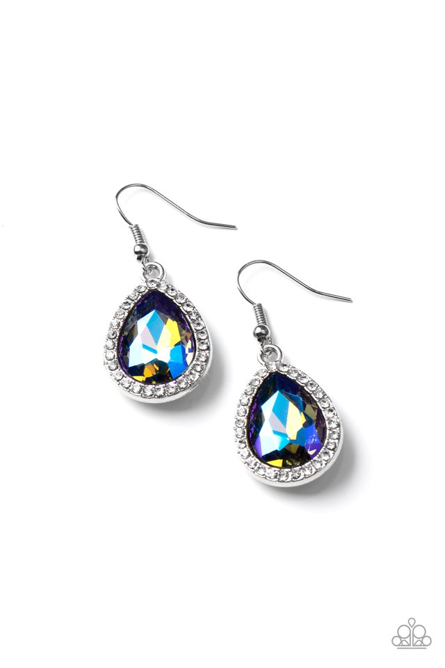 Dripping With Drama - Multi - Paparazzi Earring Image