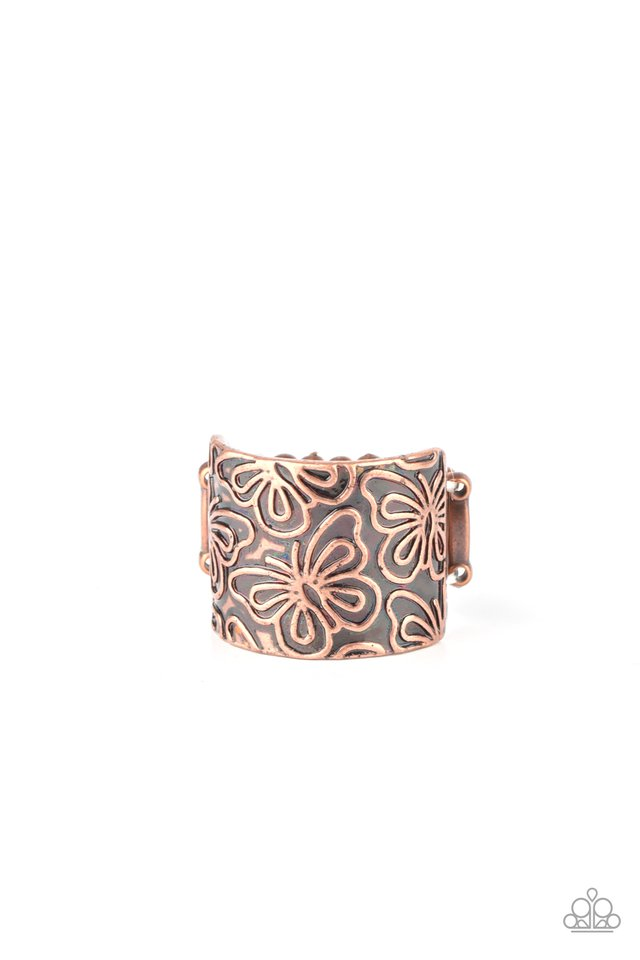 Butterfly Bayou - Copper - Paparazzi Ring Image