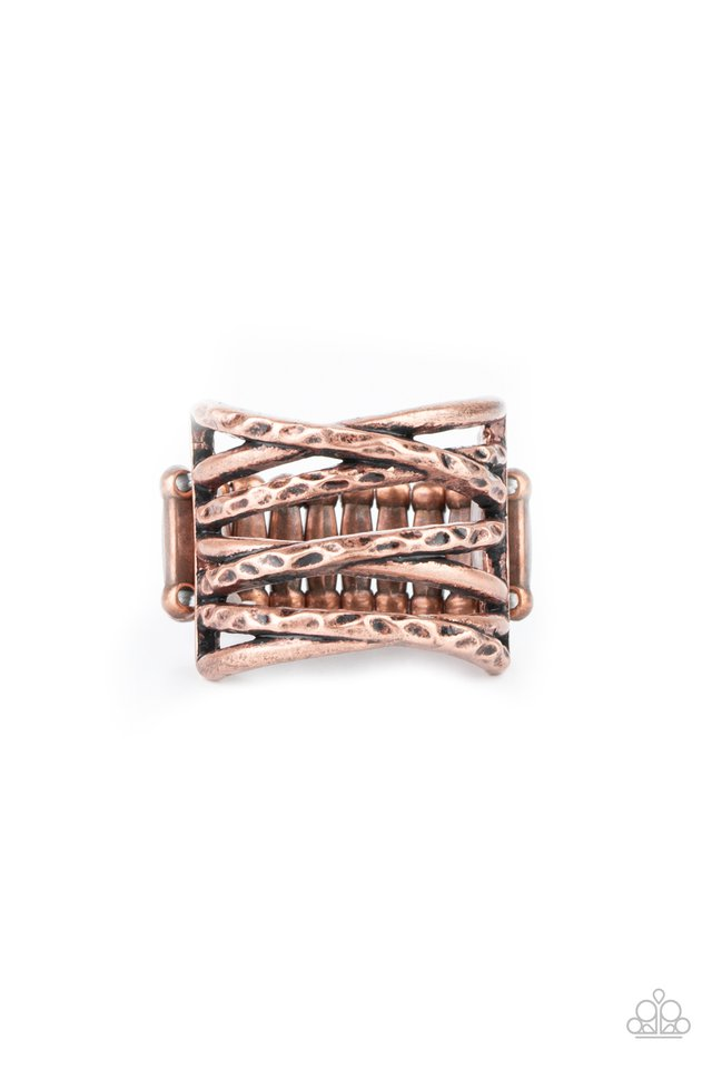 Switching Gears - Copper - Paparazzi Ring Image