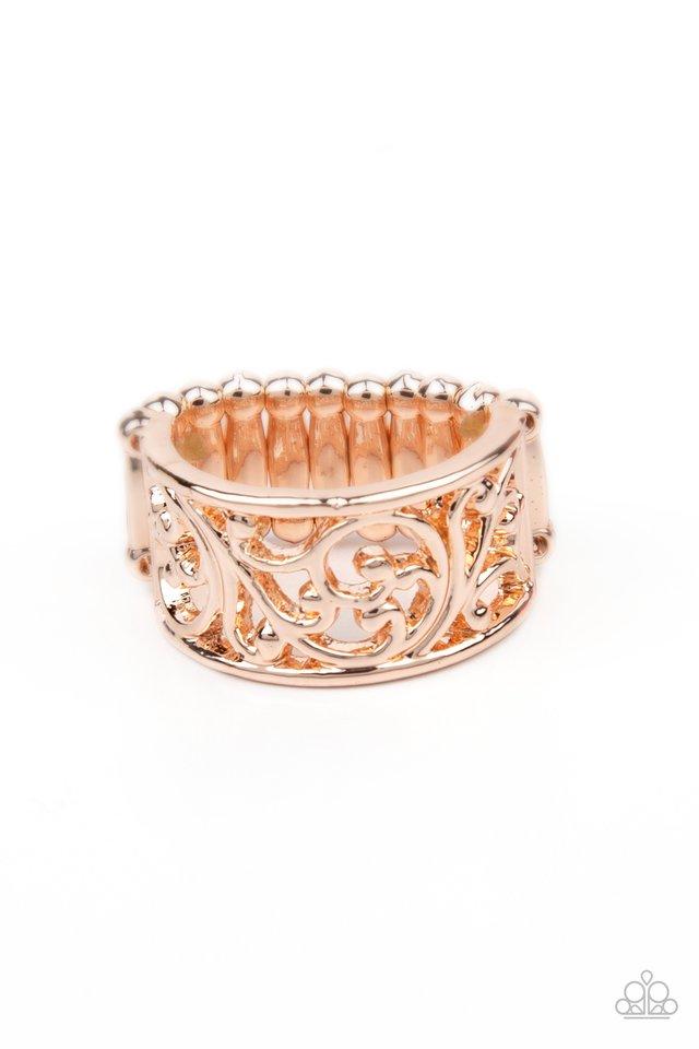 Di-VINE Design - Rose Gold - Paparazzi Ring Image