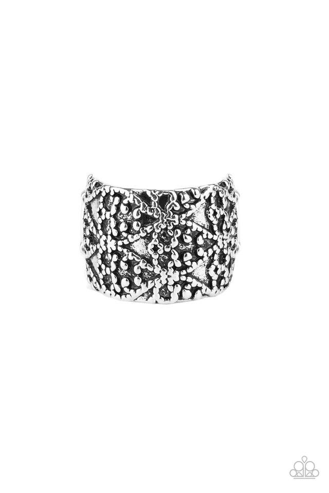 Rustic Regalia - Silver - Paparazzi Ring Image