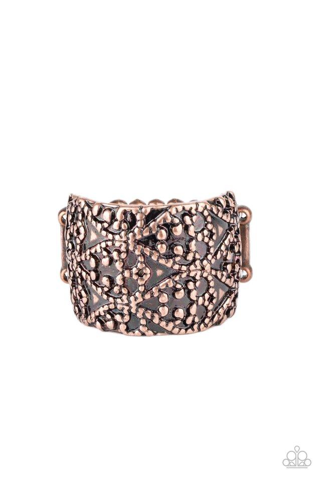 Rustic Regalia - Copper - Paparazzi Ring Image