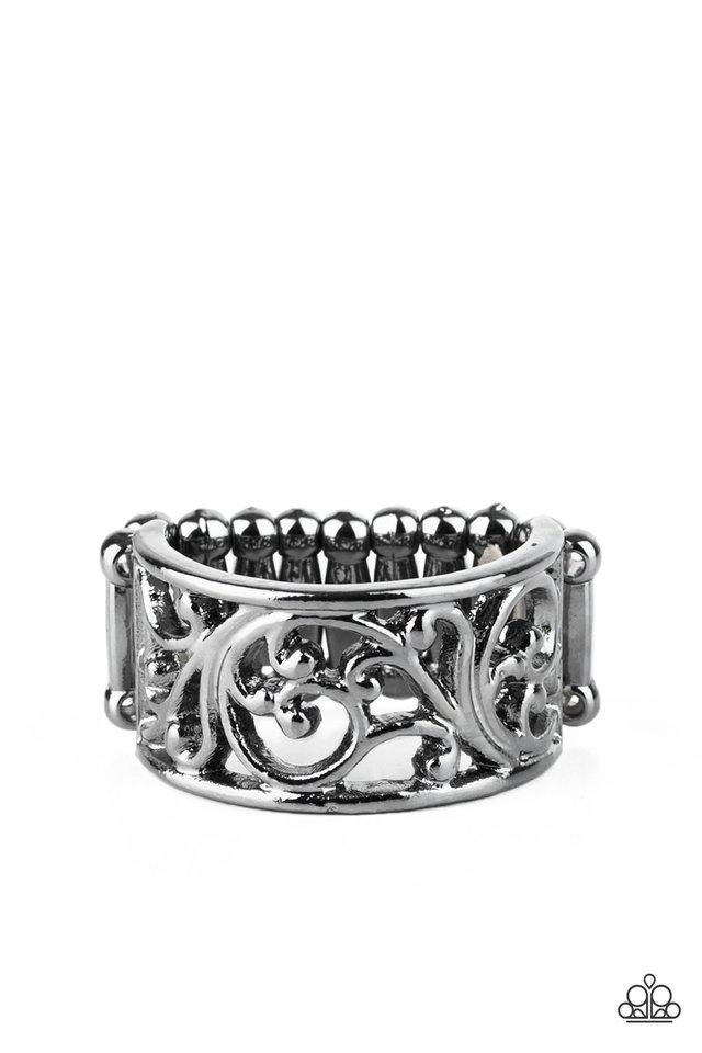 Di-VINE Design - Black - Paparazzi Ring Image