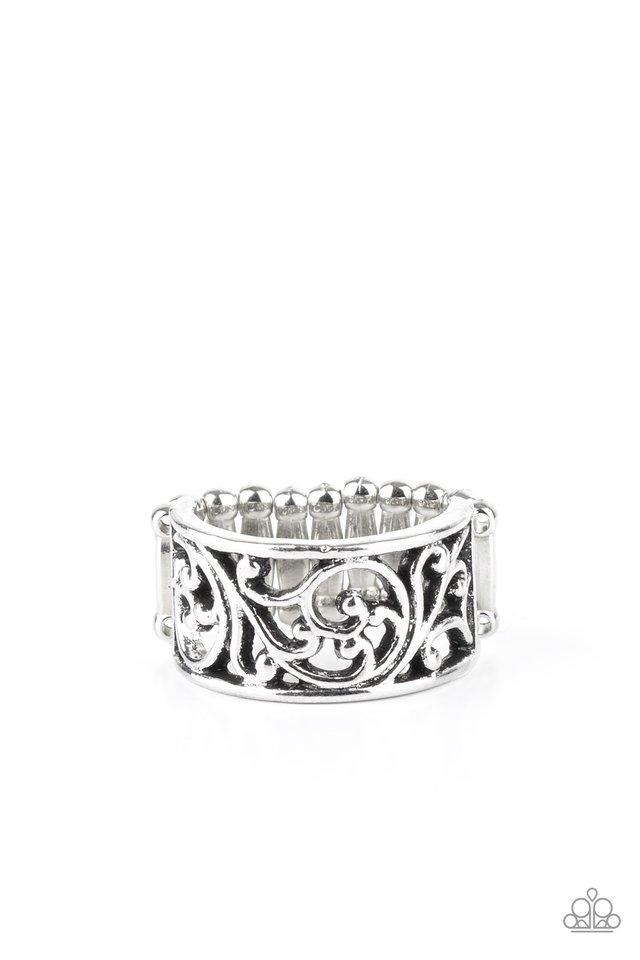 Di-VINE Design - Silver - Paparazzi Ring Image