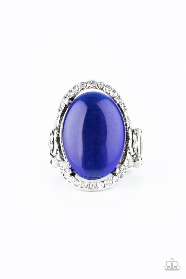 Happily Ever Enchanted - Blue - Paparazzi Ring Image