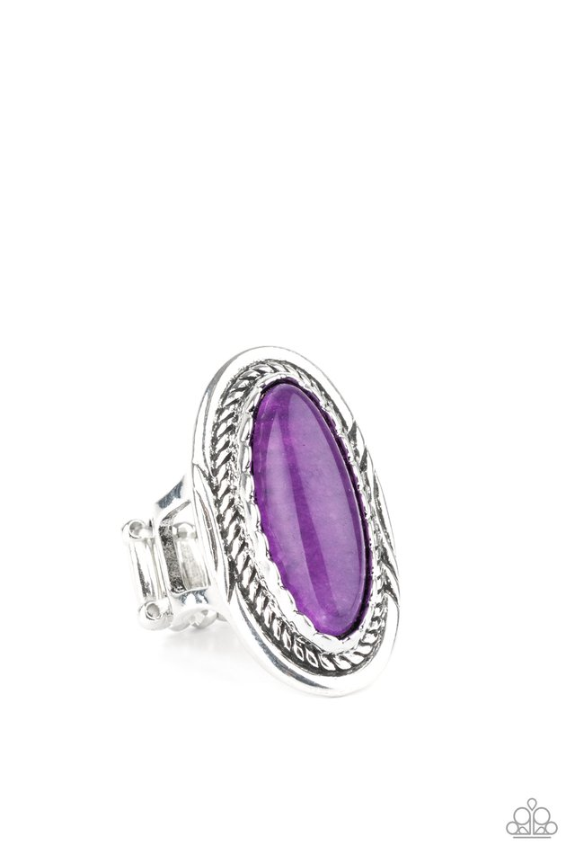 Primal Instincts - Purple - Paparazzi Ring Image