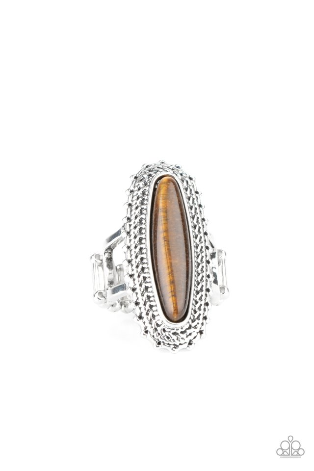 Mystical Mecca - Brown - Paparazzi Ring Image