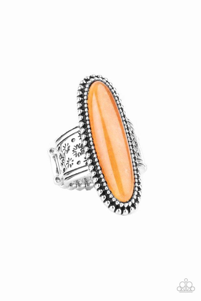 Ultra Luminary - Orange - Paparazzi Ring Image
