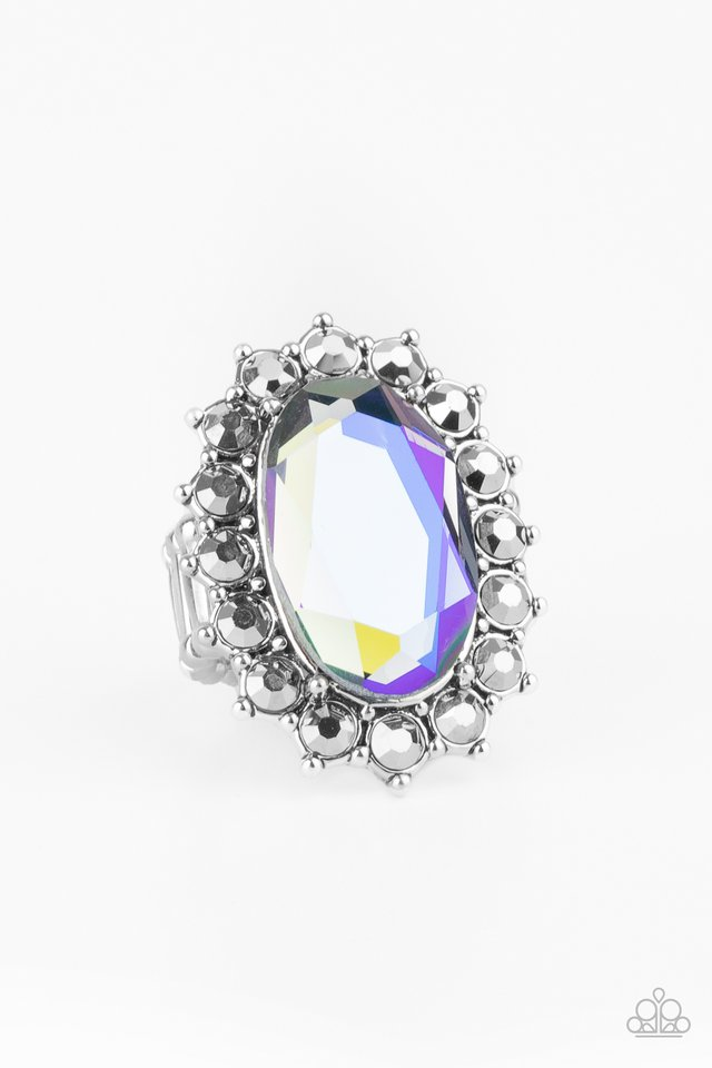 Bling Of All Bling - Blue - Paparazzi Ring Image