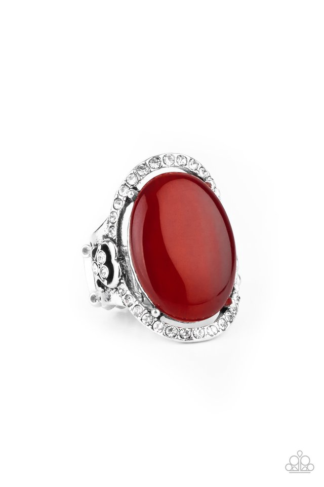 Happily Ever Enchanted - Red - Paparazzi Ring Image