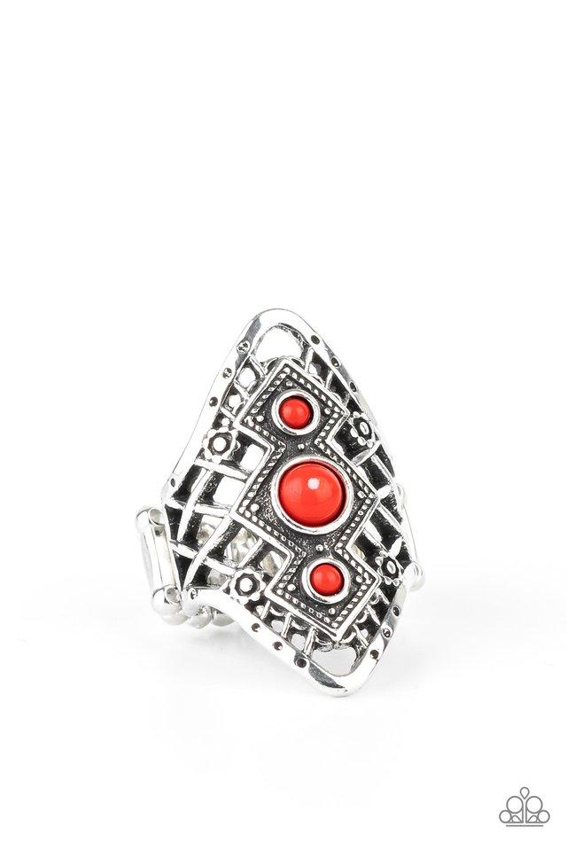 Desert Dreamland - Red - Paparazzi Ring Image