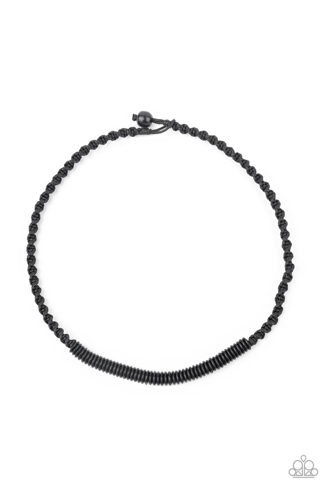 Plainly Primal - Black - Paparazzi Necklace Image