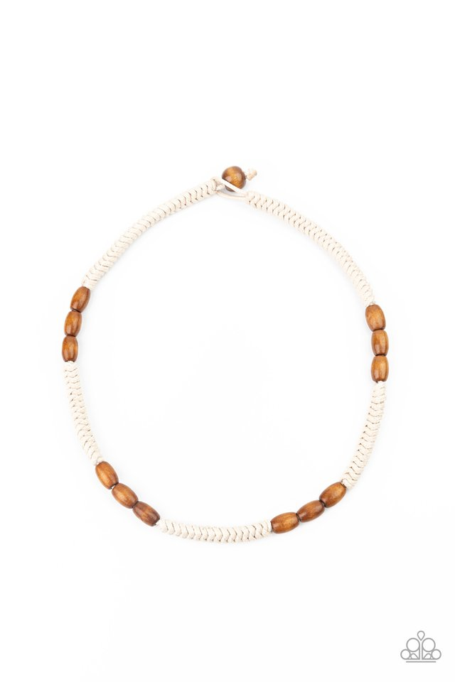 Tahiti Tide - Brown - Paparazzi Necklace Image