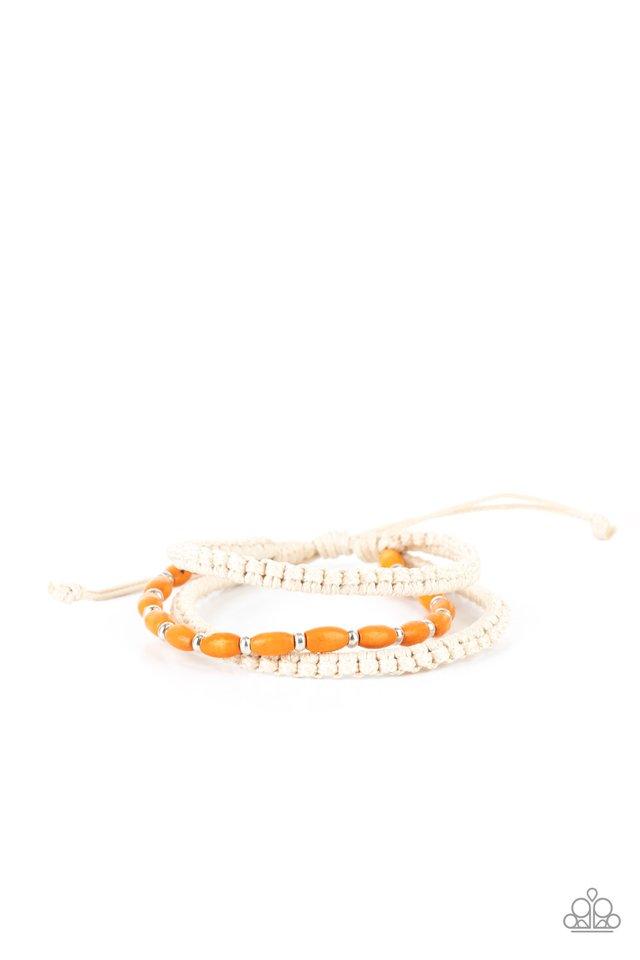 Refreshingly Rural - Orange - Paparazzi Bracelet Image