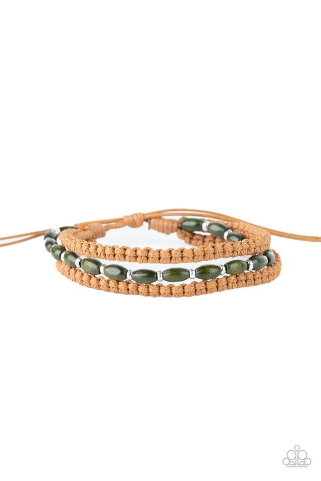 Refreshingly Rural - Green - Paparazzi Bracelet Image