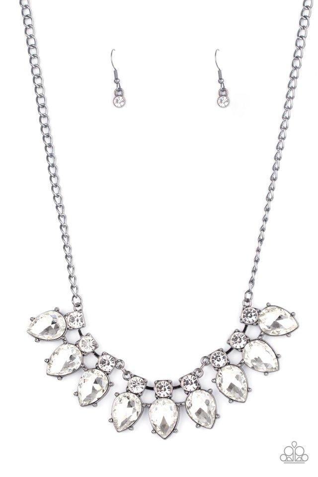 Extra Enticing - Black - Paparazzi Necklace Image
