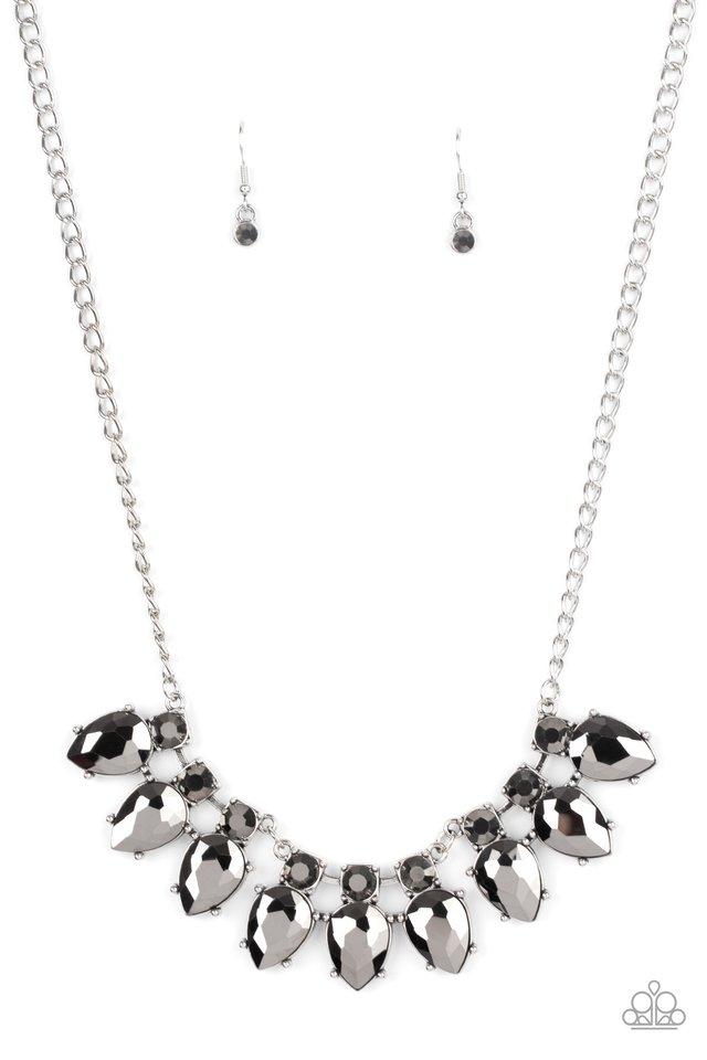 Extra Enticing - Silver - Paparazzi Necklace Image