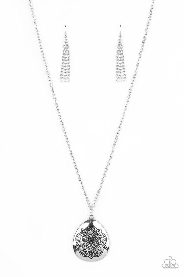 Rustic Renaissance - Silver - Paparazzi Necklace Image