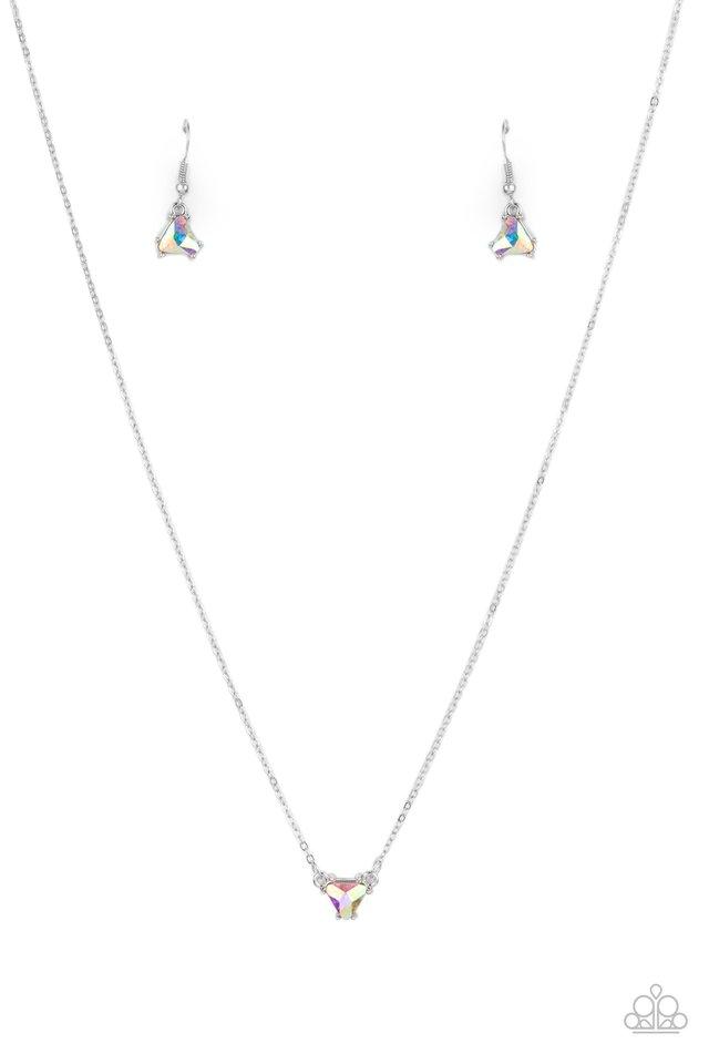 Downright Dainty - Multi - Paparazzi Necklace Image