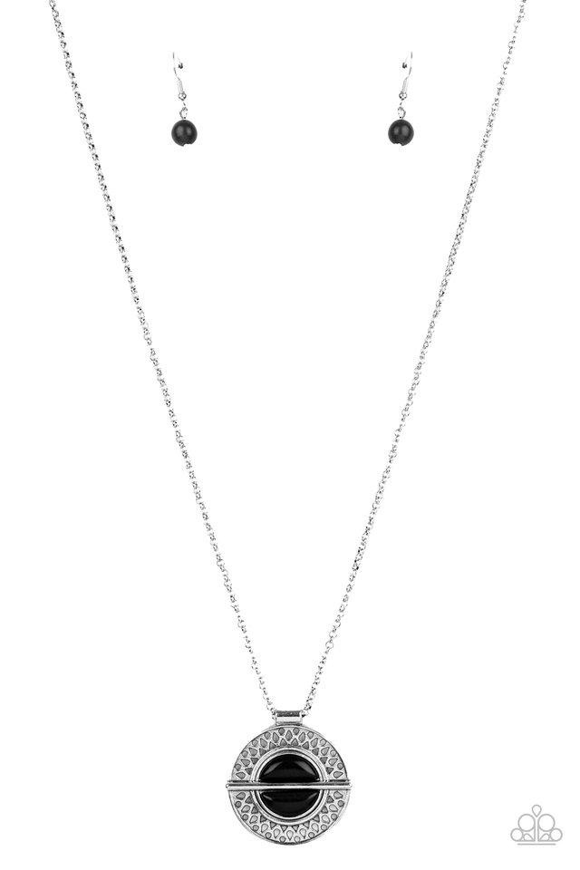 Adobe Adornment - Black - Paparazzi Necklace Image